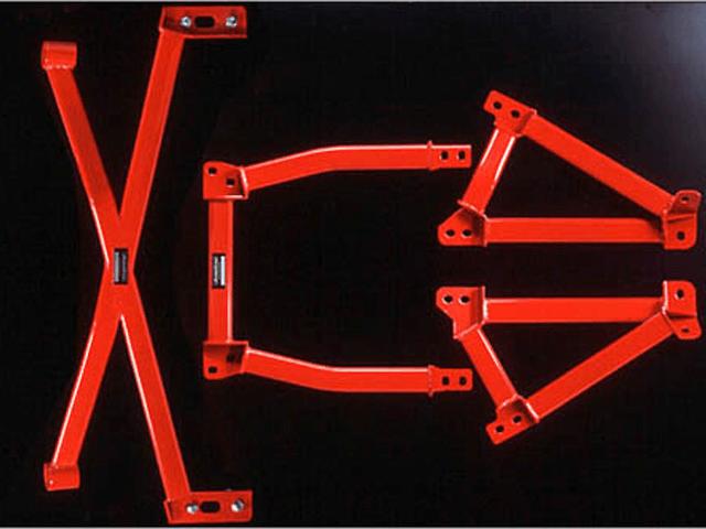FD3S RX-7 ボディー/シャシー その他各種補強 ブレスバー オートエクゼ メンバーブレースキット