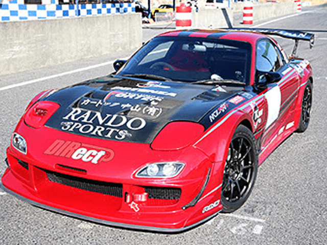 FD3S RX-7 外装 エアロパーツ フェンダー エアロテックジャパン FRONT WIDE FENDER