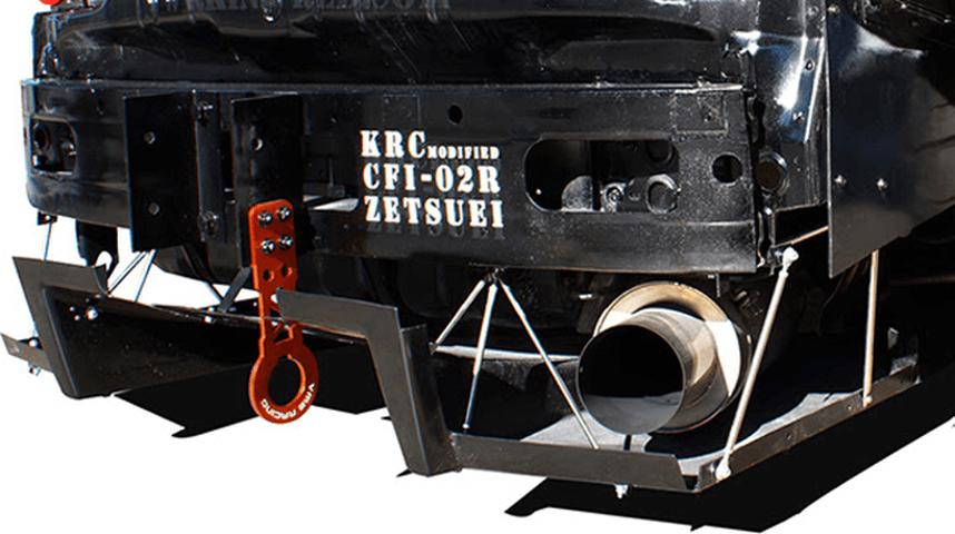 FD3S RX-7 外装 エアロパーツ リアディフューザー KRC modified リアディフューザー