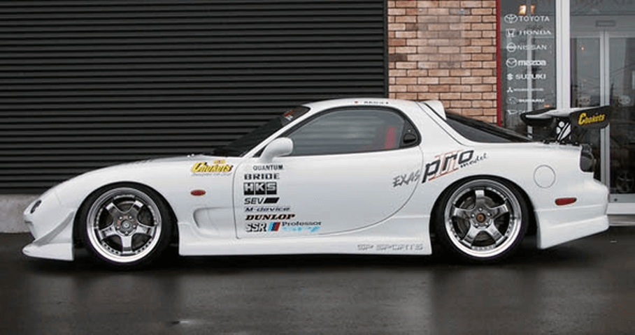 FD3S RX-7 外装 エアロパーツ サイドステップ GPスポーツ サイドステップ