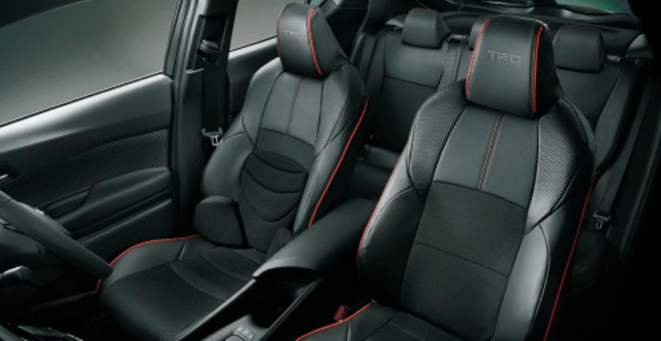 C-HR 内装 シートカバー シートカバー本体 TRD スポーツシートカバー