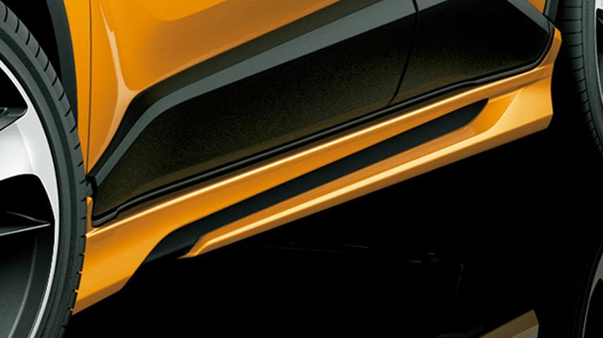 C-HR 外装 エアロパーツ サイドステップ トヨタ モデリスタ BOOST IMPULSE STYLE サイドスカート