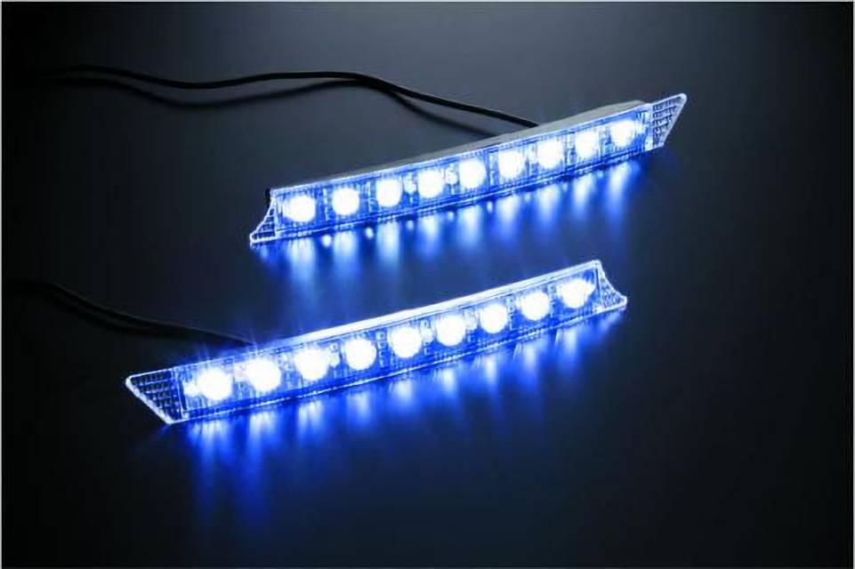 200 ハイエース(4型) 外装 エアロパーツ エアロ用LEDキット GIBSON GRAFAM(グラファム)専用 LEDデイライト(左右セット)