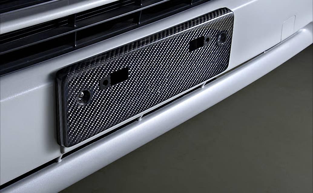 200 ハイエース(4型) 外装 外装その他 ライセンスフレーム・ステー M-Techno ライセンスマウント
