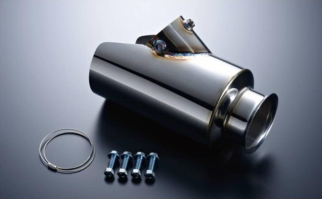 200 ハイエース(4型) 排気系 マフラーカッター マフラーカッター本体 M-Techno 200 HIACE REAL EXHAUST Device