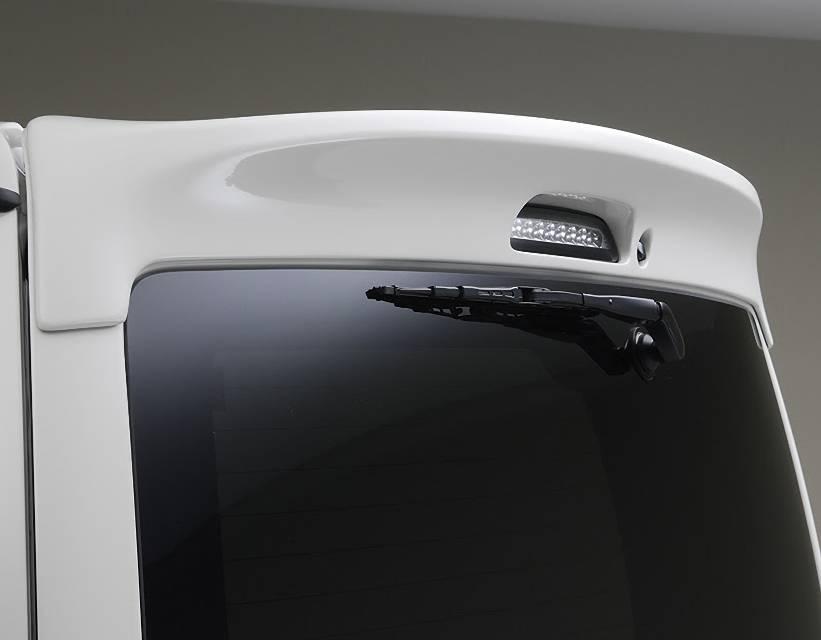 200 ハイエース(4型) 外装 エアロパーツ リアスポイラー/ウイング ESSEX リアウィングVerII