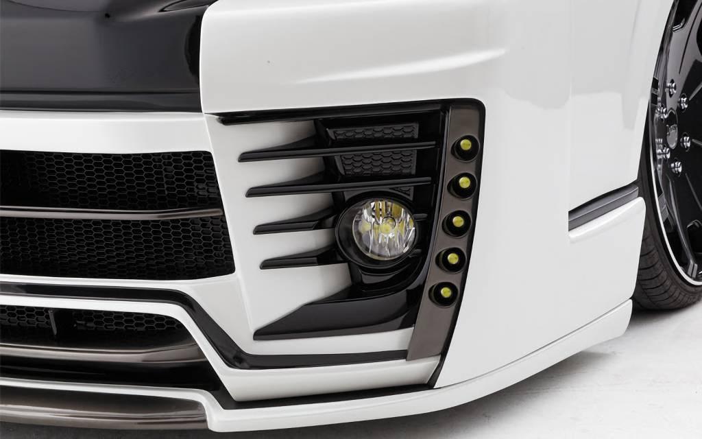 200 ハイエース(4型) 外装 エアロパーツ エアロ用LEDキット DYNASTY EXIST EVO専用5連LED DAYLIGHT(LED付き)