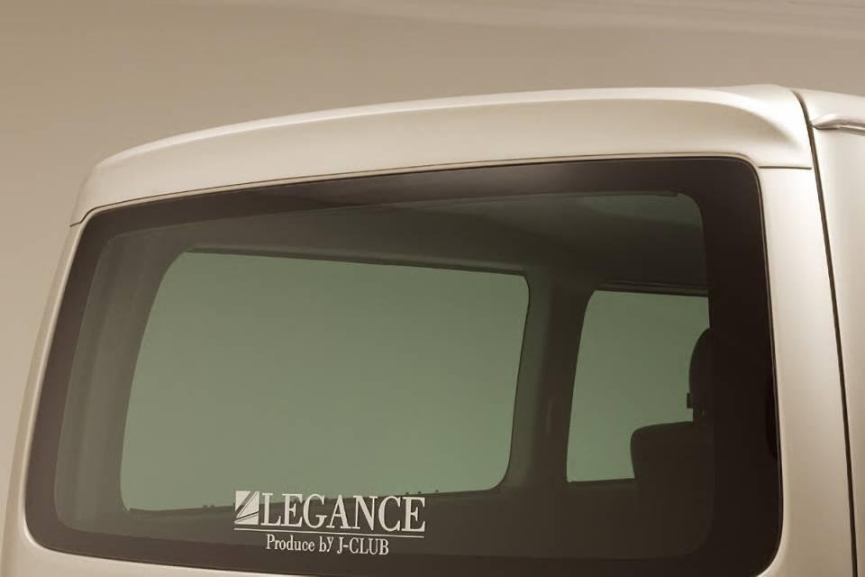200 ハイエース(4型) 外装 エアロパーツ リアスポイラー/ウイング レガンス ルーフスポイラー