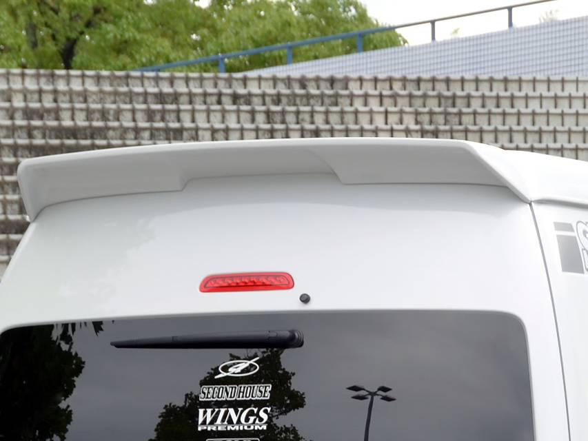 200 ハイエース(4型) 外装 エアロパーツ リアスポイラー/ウイング セカンドハウス リアウイング