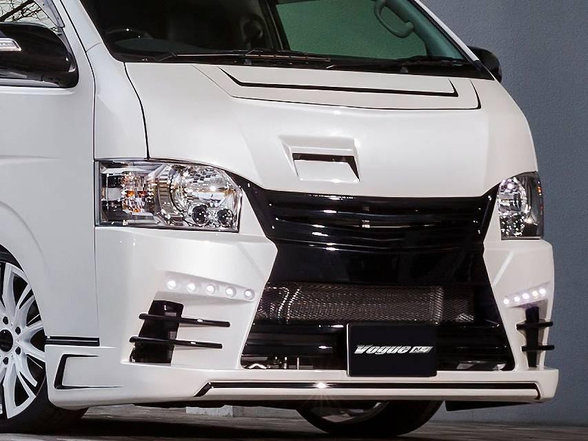 200 ハイエース(4型) 外装 エアロパーツ エアロ用LEDキット セカンドハウス デイタイムランニングライト