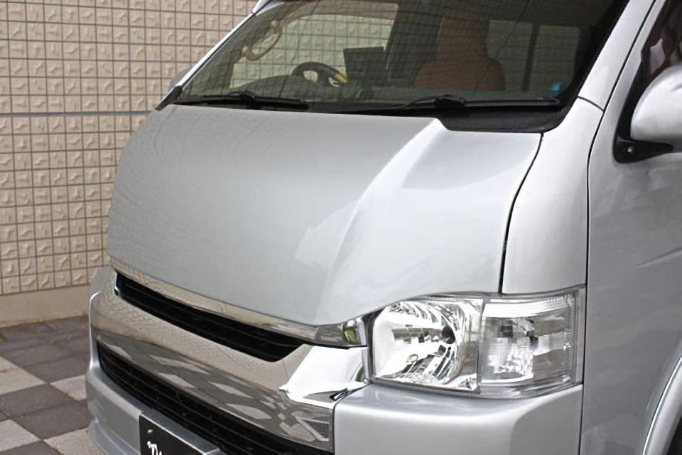 200 ハイエース(4型) 外装 エアロパーツ ボンネット ガレージベリー GROWNボンネット