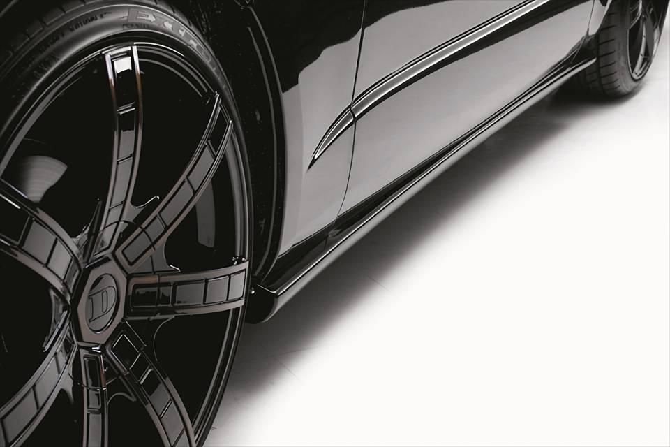 200 ハイエース ワイド(3型) 外装 エアロパーツ サイドステップ EXPOSE Side Step(ナロー/ワイドボディ用)