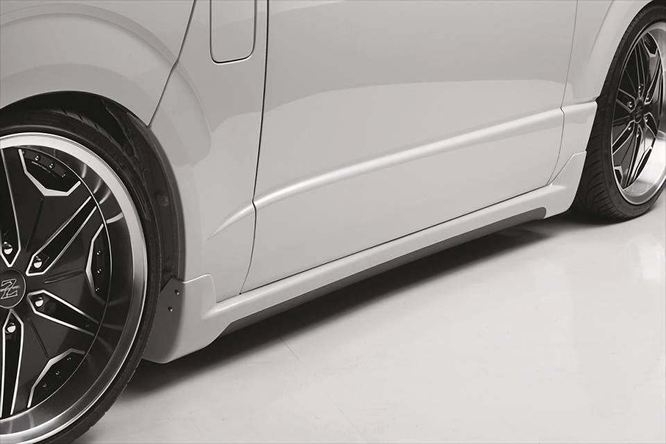 200 ハイエース(3型) 外装 エアロパーツ サイドステップ EXPOSE Side Step