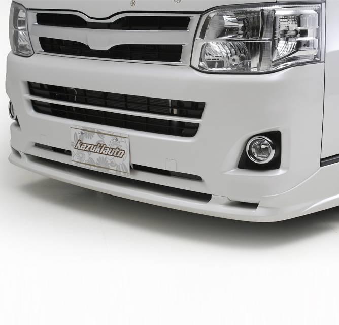 200 ハイエース(3型) 外装 エアロパーツ フロントリップスポイラー BUAN アーバンスタイル ナロボディ フロントハーフスポイラー ~ UrbanStyle NarrowBody Front Half Spoiler ~