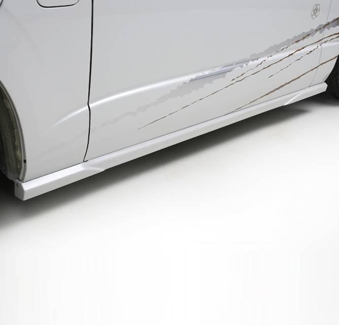 200 ハイエース(3型) 外装 エアロパーツ サイドステップ BUAN アーバンスタイル ナロボディ サイドステップ ~ UrbanStyle NarrowBody Side Step ~