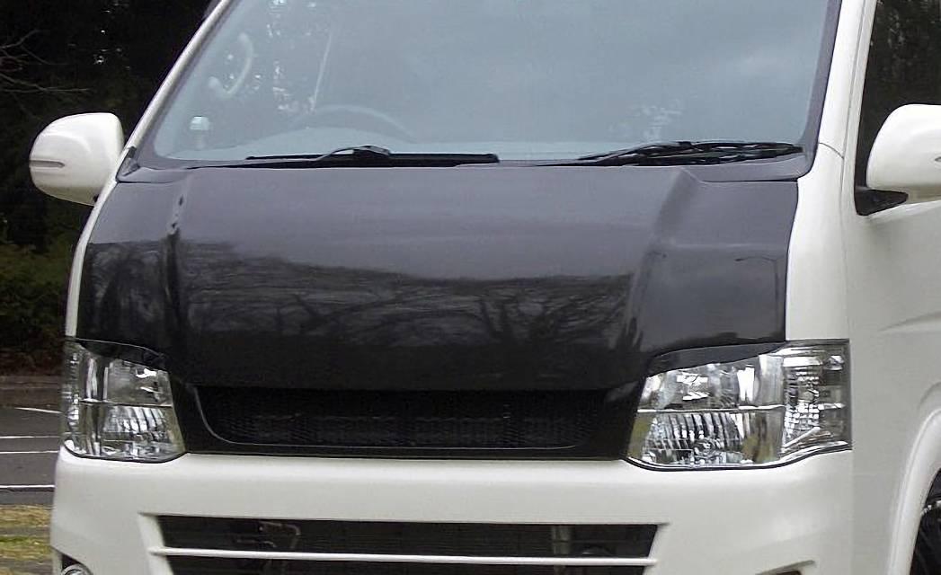 200 ハイエース(3型) 外装 エアロパーツ ボンネット ガレージベリー GARAGE VARY(ガレージベリー) 200 ハイエース 1〜3型(標準ボディ) GROWNボンネット