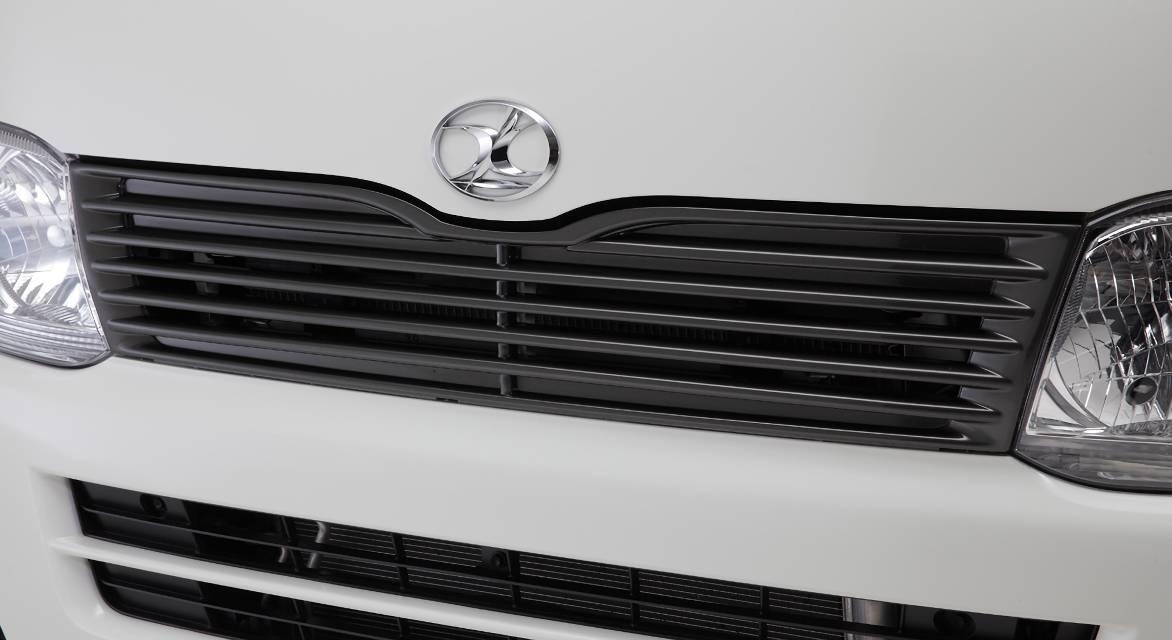 200 ハイエース(3型) 外装 エアロパーツ フロントグリル LX-MODE LXカラードフロントグリル(塗装済)(標準ボディのみ対応)<br /></a>     LXフロントグリル(未塗装)(標準ボディのみ対応)