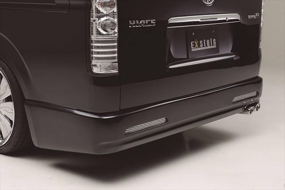 200 ハイエース(1,2型) 外装 エアロパーツ リアアンダースポイラー EXPOSE Rear Bumper Spoiler[ナロー/ワイドボディ用]
