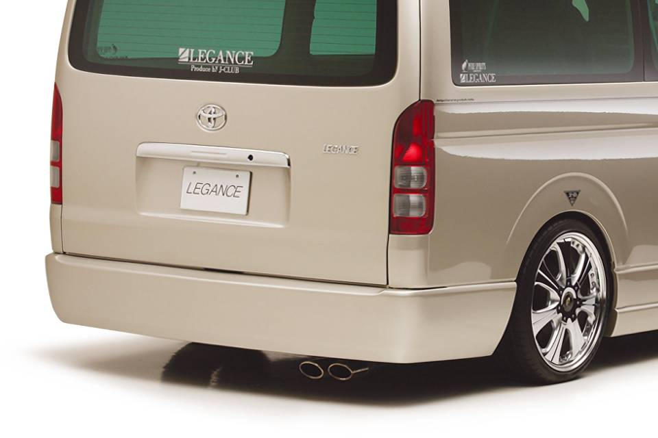 200 ハイエース ワイド(1,2型) 外装 エアロパーツ リアバンパー レガンス リアバンパー