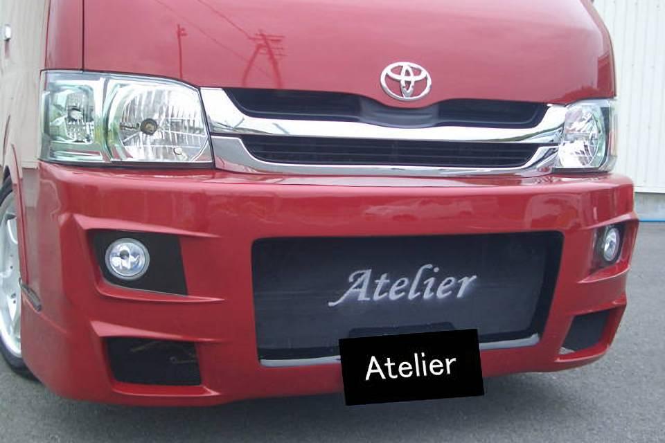 200 ハイエース(1,2型) 外装 エアロパーツ フロントバンパー Atelier (Dress up Factory Produce) G-ERフロントバンパー
