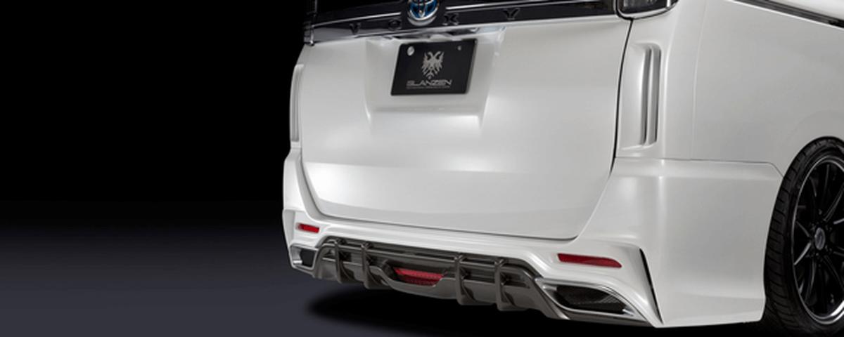 80/85 ヴォクシー 外装 エアロパーツ リアバンパー シルクブレイズ REAR BUMPER