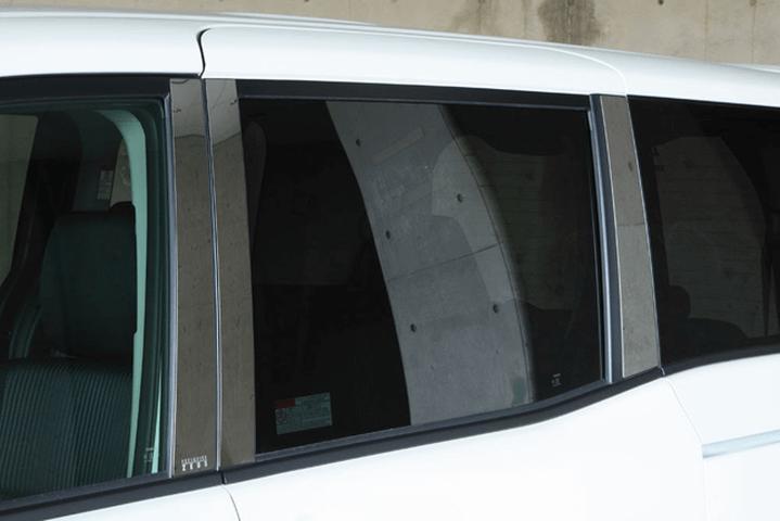 80/85 ヴォクシー 外装 外装その他 その他 M'z SPEED Stainless Pillar Reflector(6piece)