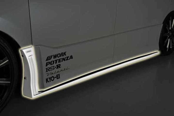 80/85 ヴォクシー 外装 エアロパーツ サイドステップ ROWEN(ローウェン) サイドステップ