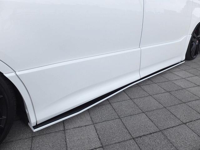 80/85 ヴォクシー 外装 エアロパーツ サイドステップ シックスセンス サイドフラップ