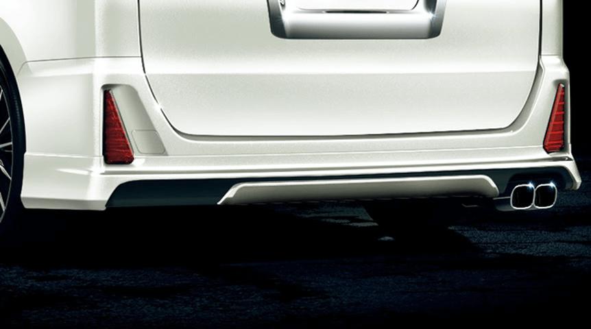 80/85 ヴォクシー 外装 エアロパーツ リアアンダースポイラー トヨタ モデリスタ リヤスカート