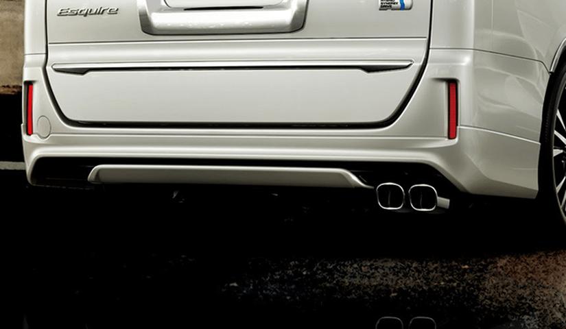 80/85 エスクァイア 外装 エアロパーツ リアアンダースポイラー トヨタ モデリスタ リヤスカート