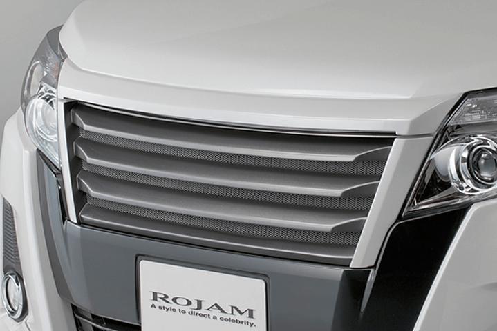 80/85 ノア 外装 エアロパーツ フロントグリル ROJAM Front Grille/フロントグリル