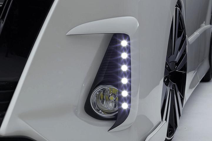 80/85 ノア 外装 ライト その他 シックスセンス Siグレード用LEDデイランプキット