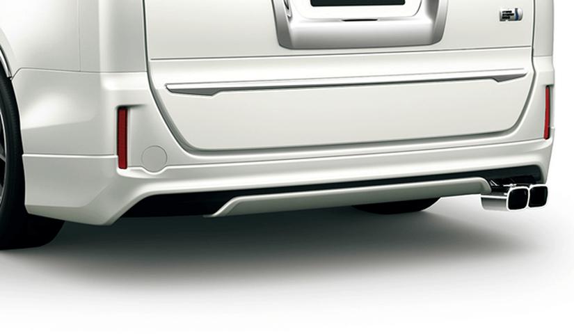 80/85 ノア 外装 エアロパーツ リアアンダースポイラー トヨタ モデリスタ リヤスカート