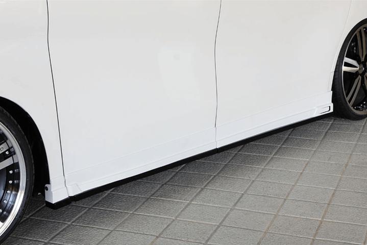 30 アルファード 外装 エアロパーツ サイドステップ M'z SPEED Side Step