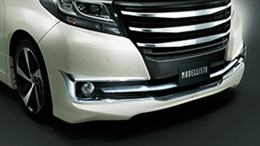 30 アルファード 外装 エアロパーツ フロントバンパー トヨタ モデリスタ VERSION ZERO
