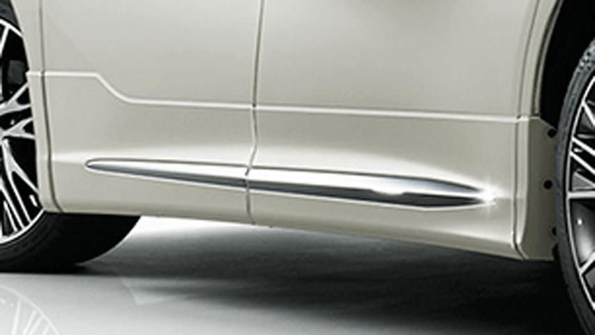 30 アルファード 外装 エアロパーツ サイドステップ トヨタ モデリスタ サイドスカート