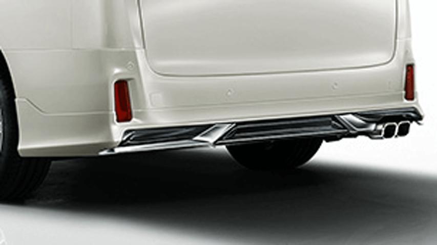 30 アルファード 外装 エアロパーツ リアアンダースポイラー トヨタ モデリスタ リヤスカート