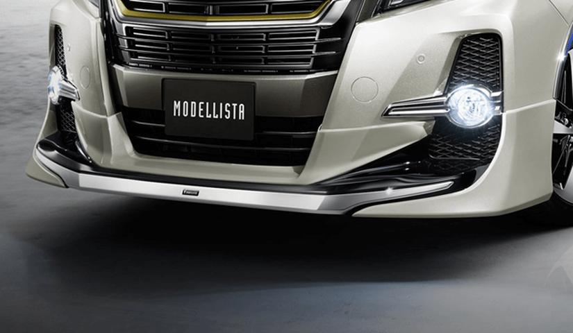 30 アルファード 外装 エアロパーツ フロントリップスポイラー トヨタ モデリスタ フロントスポイラー