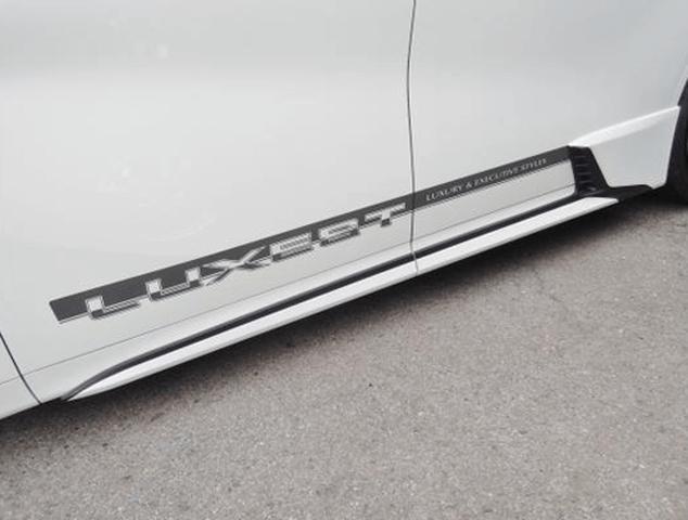 30 ヴェルファイア 外装 エアロパーツ サイドステップ AMS サイドパネルセット