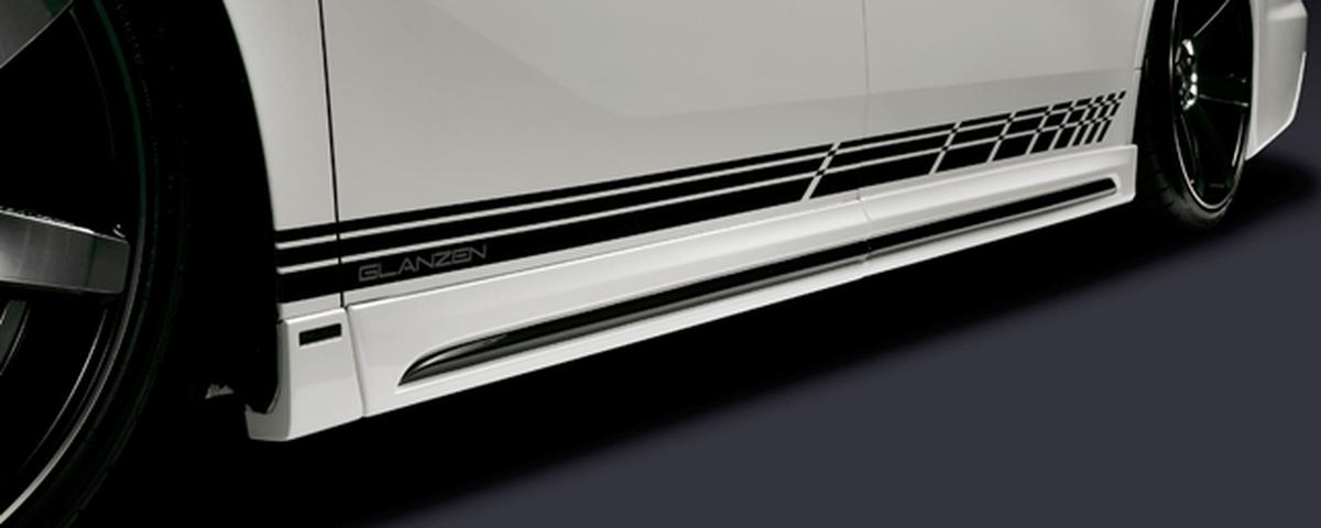 30 ヴェルファイア 外装 エアロパーツ サイドステップ シルクブレイズ SIDEPANEL