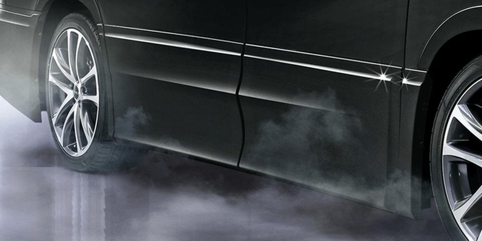 30 ヴェルファイア 外装 エアロパーツ サイドステップ TRD サイドスカート