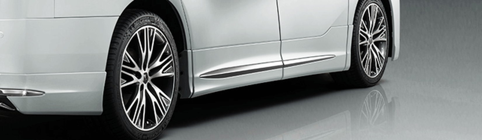 30 ヴェルファイア 外装 エアロパーツ サイドステップ トヨタ モデリスタ サイドスカート
