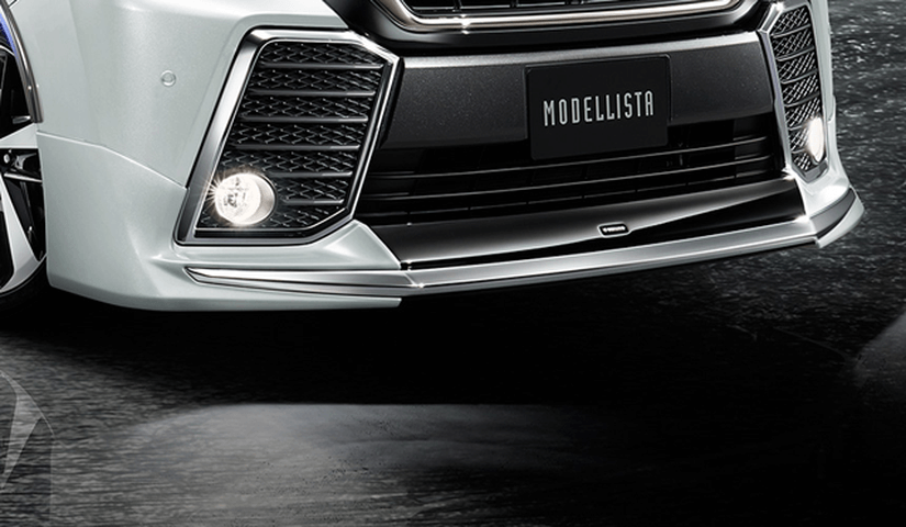 30 ヴェルファイア 外装 エアロパーツ フロントリップスポイラー トヨタ モデリスタ フロントスポイラー