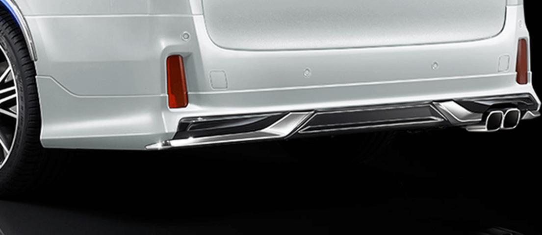 30 ヴェルファイア 外装 エアロパーツ リアアンダースポイラー トヨタ モデリスタ リヤスカート