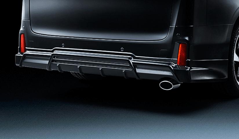 30 ヴェルファイア 外装 エアロパーツ リアアンダースポイラー アドミレイション リヤスタイリングキット(リヤスカート+マフラーカッター)