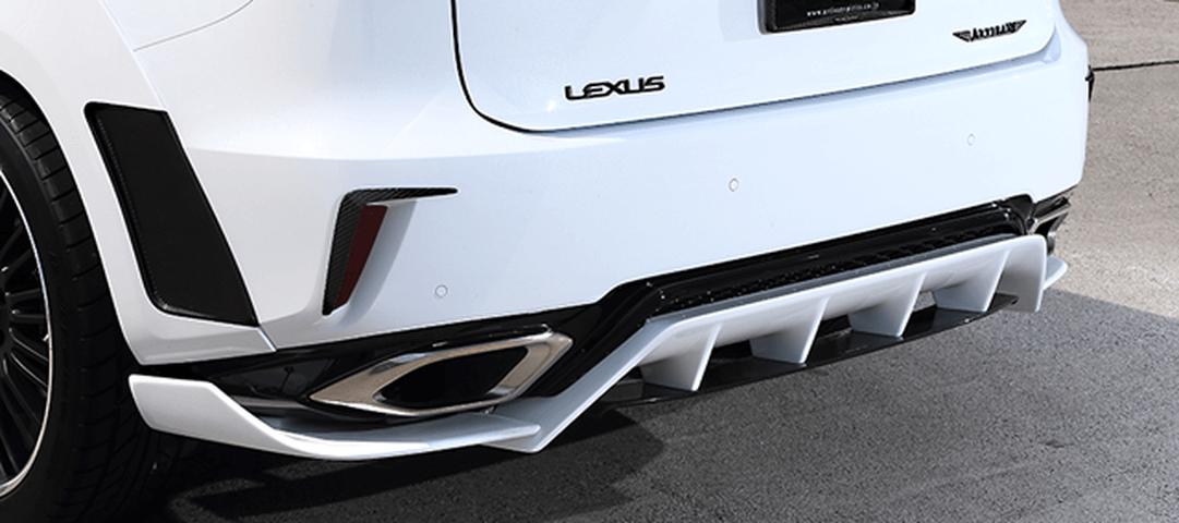 LEXUS RX 20/25W 外装 エアロパーツ リアアンダースポイラー ARTISAN SPIRITS REAR UNDER DIFFUSER 4P