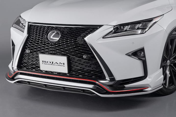 LEXUS RX 20/25W 外装 エアロパーツ フロントリップスポイラー ROJAM Front Lip Spoiler