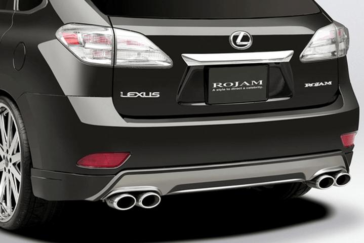 LEXUS RX 10/15W 外装 エアロパーツ リアアンダースポイラー ROJAM Rear Lip Spoiler / リアリップスポイラー