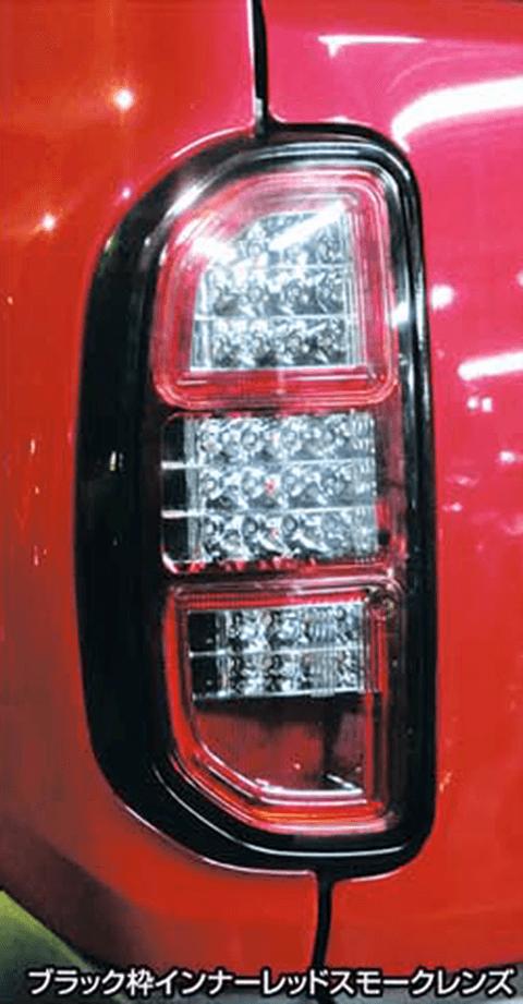 ハスラー 外装 ライト テールランプ ハイブリッジファースト LED テールランプ