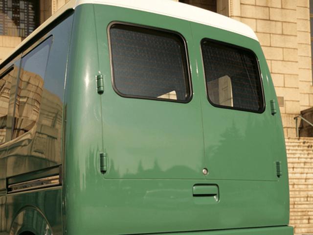 DA64V エブリイ バン 外装 エアロパーツ トランク modest cars リアゲートカバー
